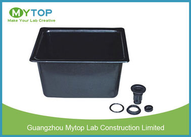 Black High Grade PP Laboratory Fittings Corrosion Resistant Laboratory Sinks