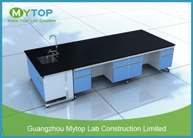 Professional University Laboratory Furniture Chemistry Lab Tables Chemical Resistance